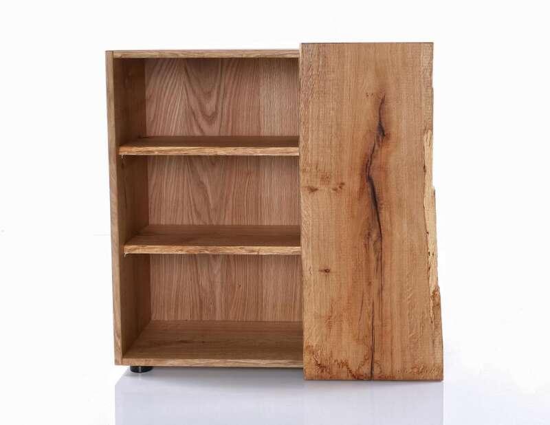 kommode woodline eiche breit mit 1 t r astor. Black Bedroom Furniture Sets. Home Design Ideas