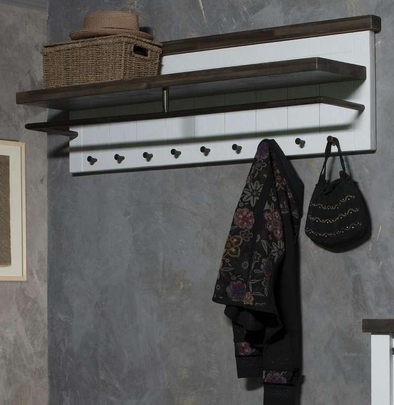 Wohnideen Garderobe loft breit weiss lackiert astor wohnideen