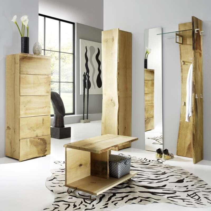 Garderobenkombination Woodline 5 Eiche Astor