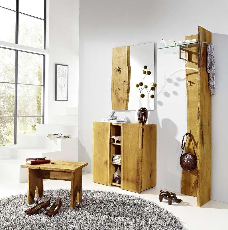 Garderobenkombination Woodline 6 Eiche Astor