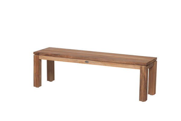 Bank Nizza 150 cm Teak natur - Diamond Garden
