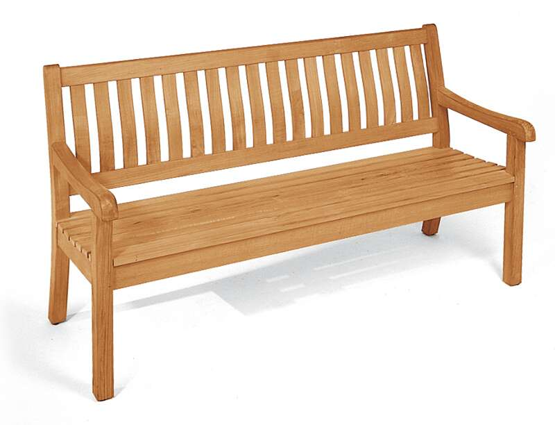 Gartenbank Wales 3-Sitzer teak - SonnenPartner 80083172