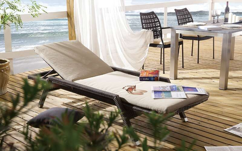 gartenliege auckland bronze destiny gartenm bel. Black Bedroom Furniture Sets. Home Design Ideas