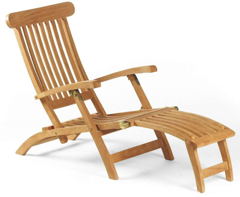 Deckchair Manhattan teak - SonnenPartner