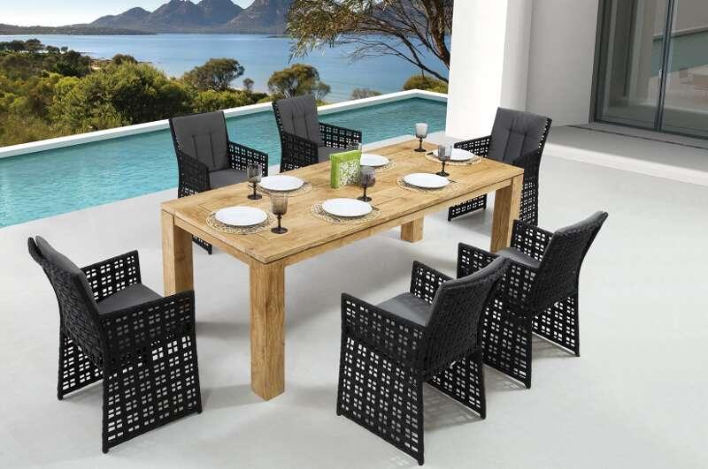 gartensitzgruppe barcello dorado destiny gartenm bel. Black Bedroom Furniture Sets. Home Design Ideas
