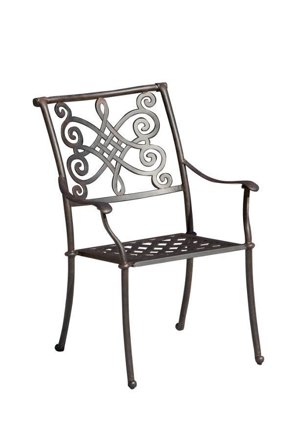 Tisch Nexus 150x97 cm Aluguss bronze - inko Gartenmöbel