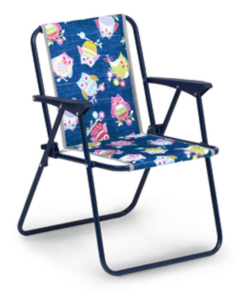 Klappstuhl camping kinder  Kinder-Camping-Klappsessel blau - BEST Freizeitmöbel