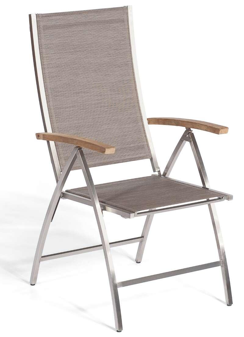 klappsessel paragon taupe sonnenpartner. Black Bedroom Furniture Sets. Home Design Ideas