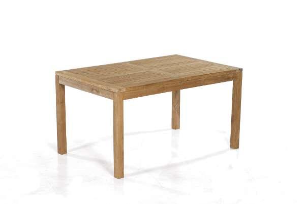 Gartentisch Wellington 140x90 cm Teakholz - SonnenPartner 80061217
