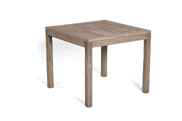Gartentisch Wellington 90x90 Cm Old Teak Grey Washed