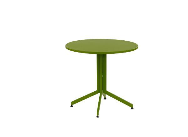 inko Gartenmöbel Klapptisch Urban Alu Durchm 80 cm grün - inko TTK_180-G