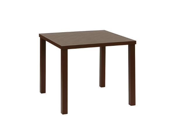 Tisch Ronda Alu braun - inko Gartenmöbel TOG_299-B