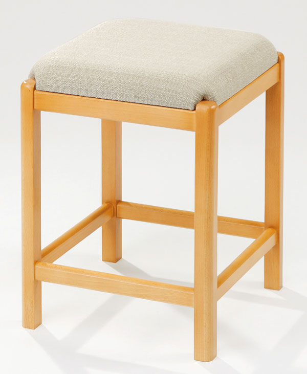 Hocker MARTINA beige - Necke