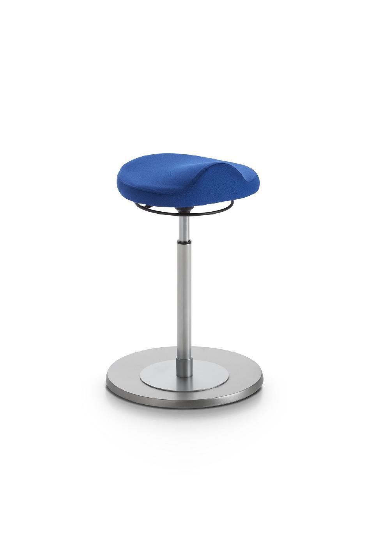 Pendelhocker myERGOSIT ergonomischen Sitz blau Mayer