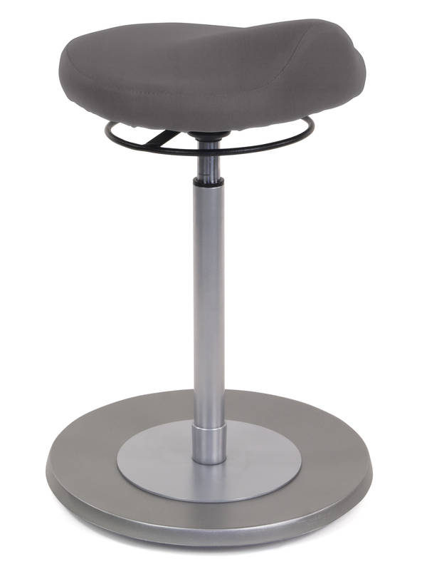 Pendelhocker myERGOSIT ergonomischen Sitz dunkelgrau Mayer