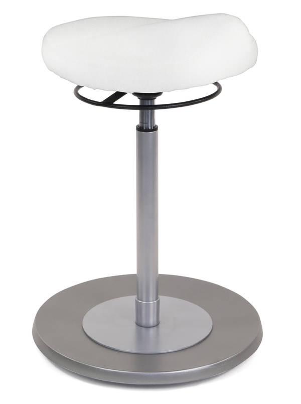 Pendelhocker myERGOSIT ergonomischen Sitz weiss Mayer