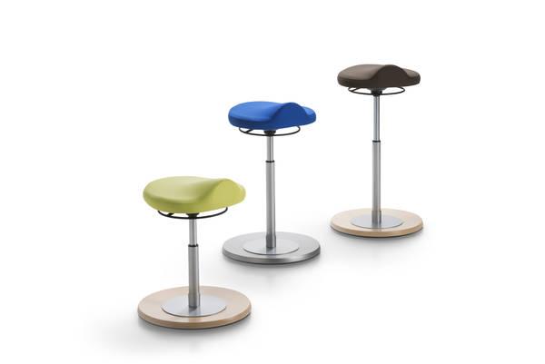 Pendelhocker myERGOSIT kids ergonomischen Sitz limette Mayer