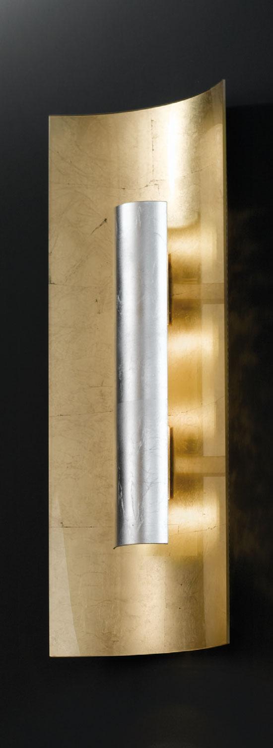 deckenleuchte aura gold silber hans k gl. Black Bedroom Furniture Sets. Home Design Ideas
