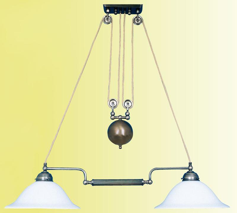 Deckenleuchte dz 04 doppelzug trikonzept for Lampen deckenleuchten