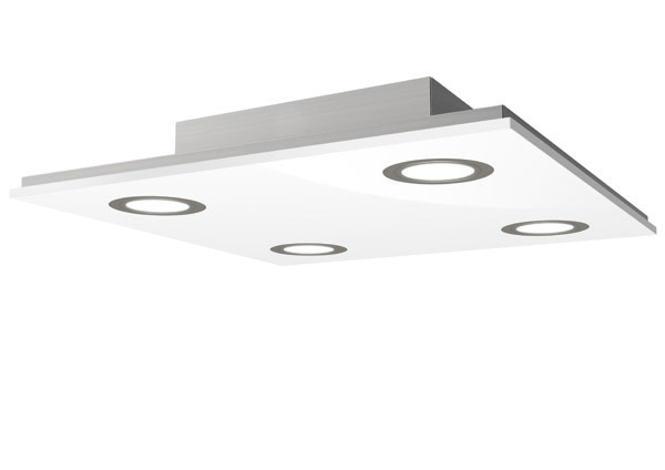 LED-Deckenleuchte PANO 16W weiss - evotec