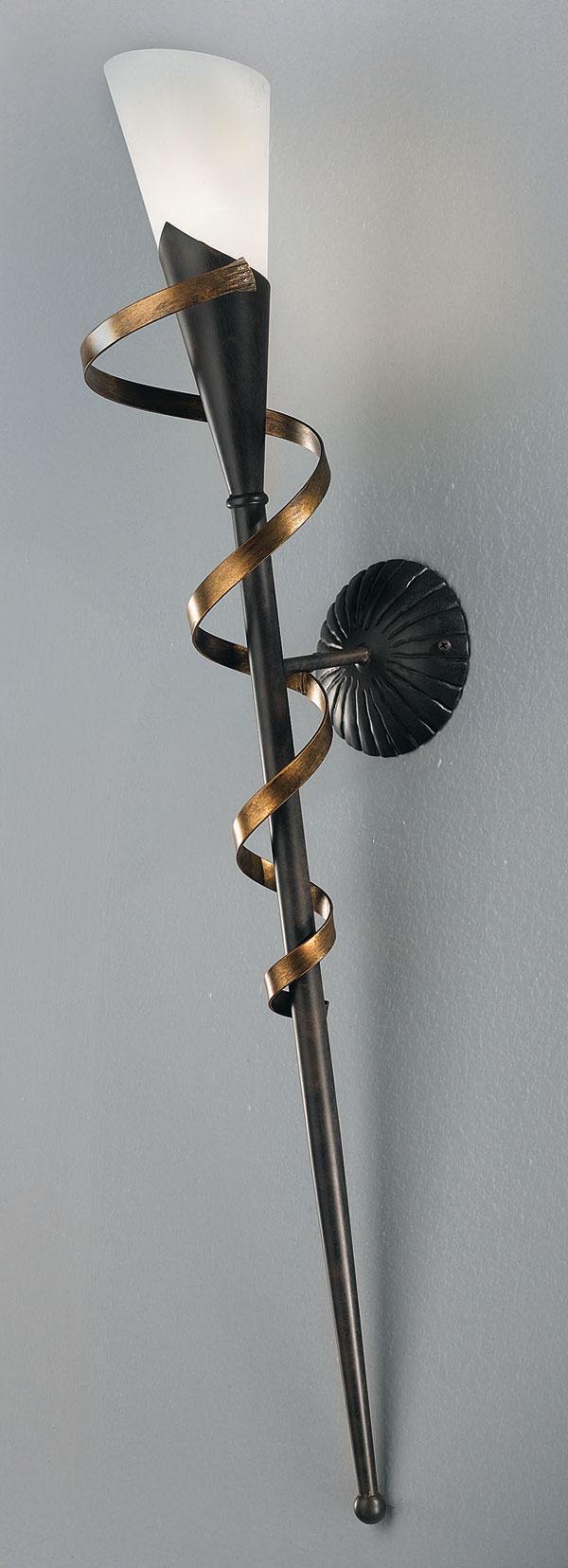 wandleuchte fackel 34514 hans k gl. Black Bedroom Furniture Sets. Home Design Ideas