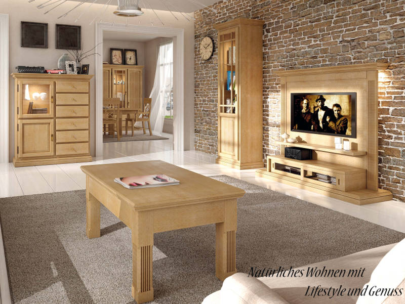 tv wandboard duett massiv 50 zoll plasma karamell voglrieder. Black Bedroom Furniture Sets. Home Design Ideas