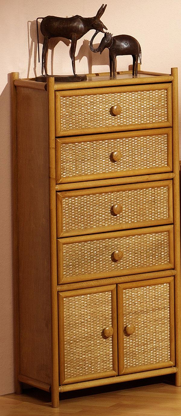 rattanschrank susann l necke. Black Bedroom Furniture Sets. Home Design Ideas