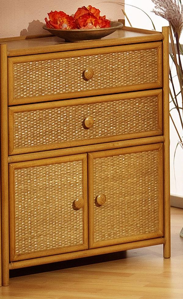 rattanschrank susann ll necke. Black Bedroom Furniture Sets. Home Design Ideas
