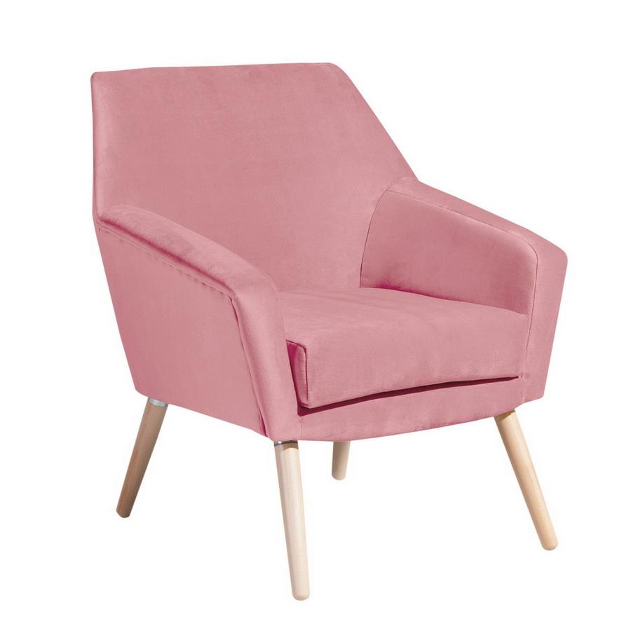 sessel alegro velours ros max winzer. Black Bedroom Furniture Sets. Home Design Ideas