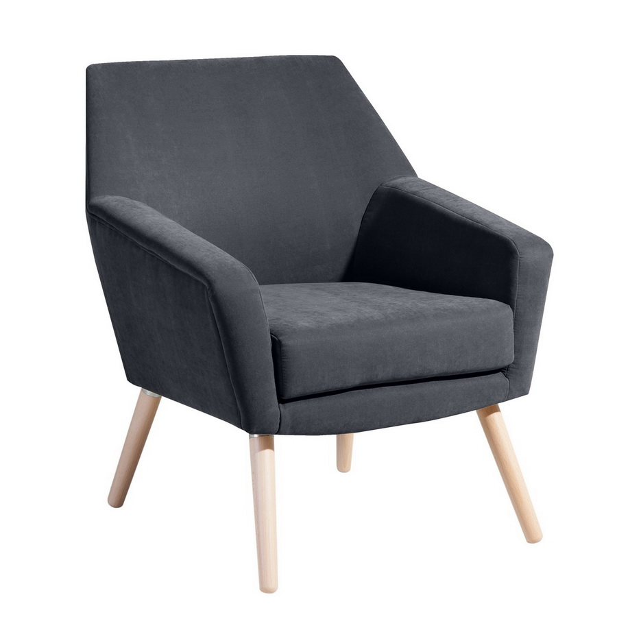 sessel alegro anthrazit max winzer. Black Bedroom Furniture Sets. Home Design Ideas