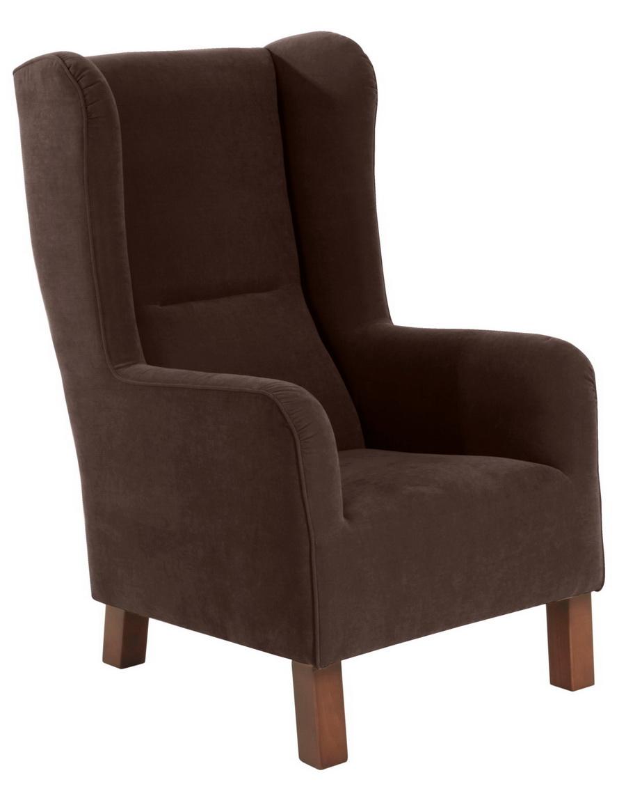 sessel bruno braun max winzer. Black Bedroom Furniture Sets. Home Design Ideas