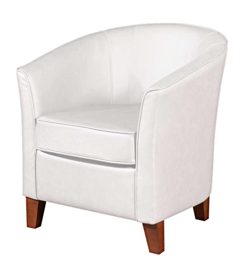 cocktailsessel luisa wei echt leder max winzer. Black Bedroom Furniture Sets. Home Design Ideas