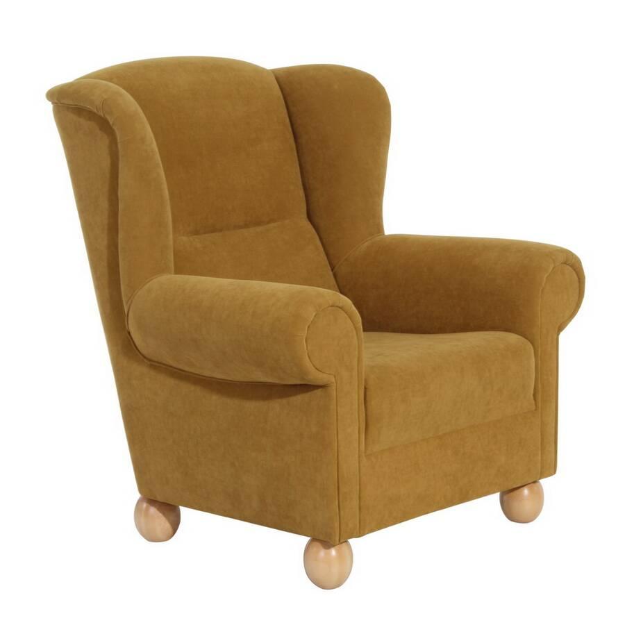ohrenbackensessel monarch mais max winzer. Black Bedroom Furniture Sets. Home Design Ideas