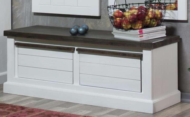 lowboard loft 2 schubladen weiss lackiert astor. Black Bedroom Furniture Sets. Home Design Ideas