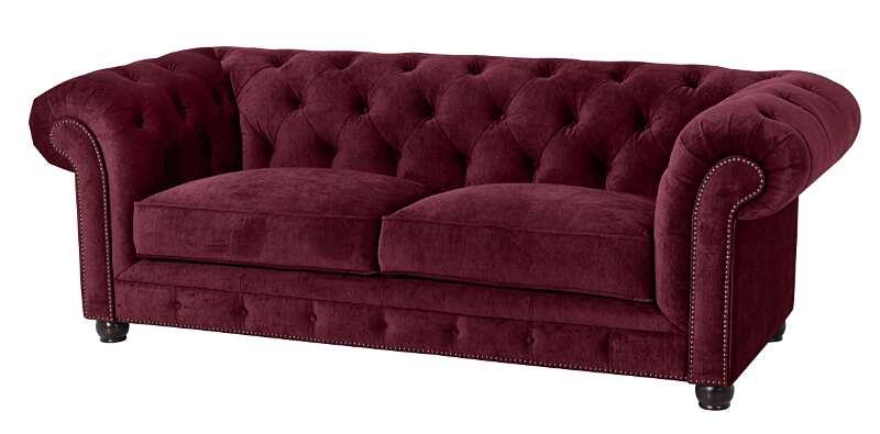 Sofa Orleans 2 5 Sitz burgund Max Winzer