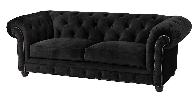 sofa orleans 2 5 sitz schwarz max winzer. Black Bedroom Furniture Sets. Home Design Ideas