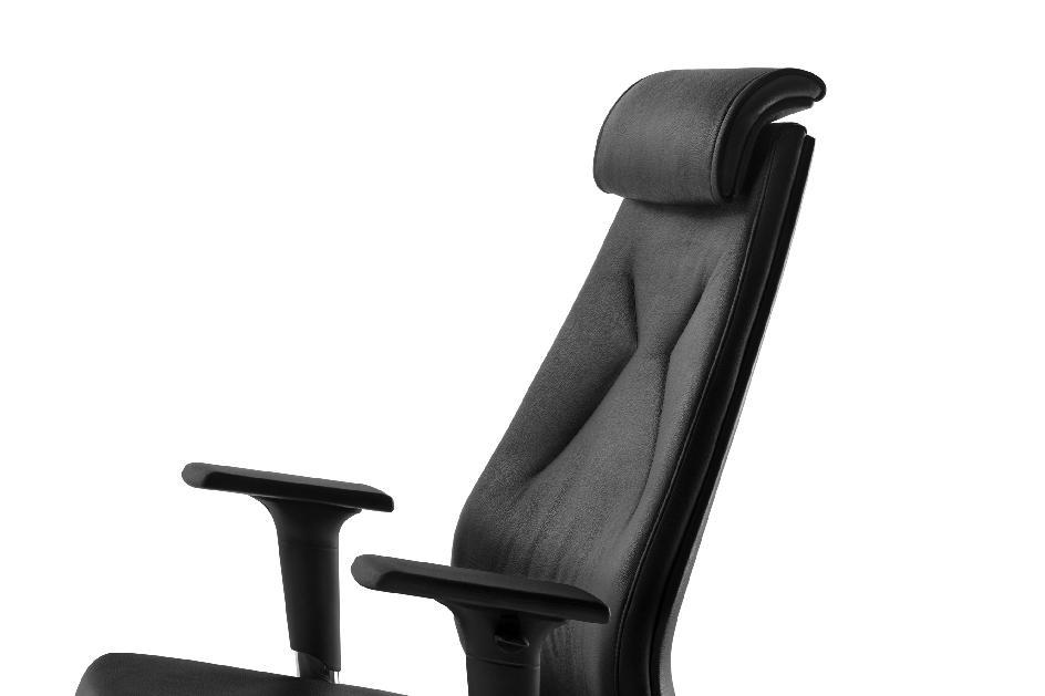 chefsessel mybestmind echt leder schwarz mayer sitzm bel. Black Bedroom Furniture Sets. Home Design Ideas