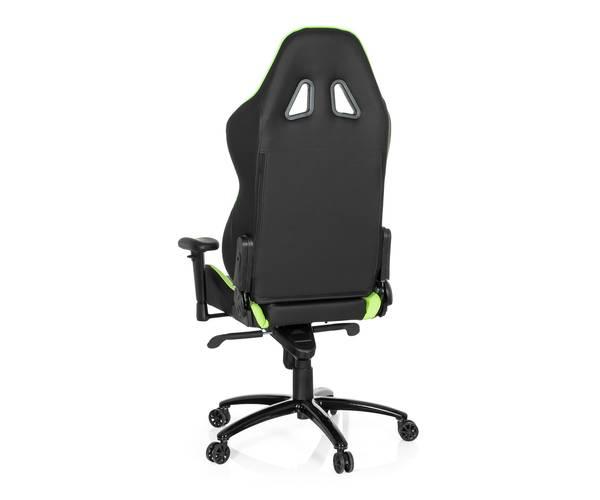 gaming stuhl wingman i kunstleder schwarz gruen hjh. Black Bedroom Furniture Sets. Home Design Ideas