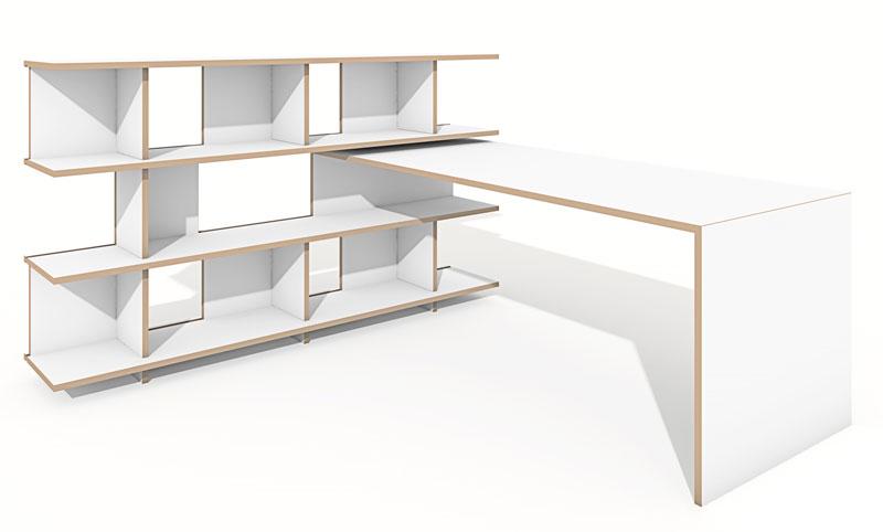 regal tojo stell grundmodul weiss tojo. Black Bedroom Furniture Sets. Home Design Ideas