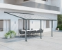 Terrassendach Olympia Patio Covers 16mm 3x5 grau klar - Palram