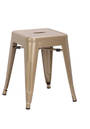 Hocker VANTAGGIO metallic champagner - hjh OFFICE