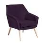 Sessel Alegro velours purple - Max Winzer